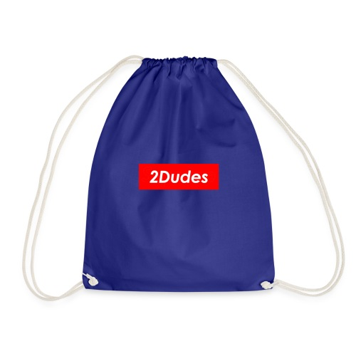 2Dudes Box Logo - Drawstring Bag