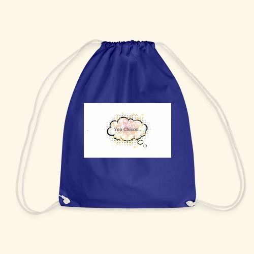 Yoo Chicoo... logo - Drawstring Bag