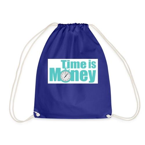 Zeit ist Geld - Turnbeutel
