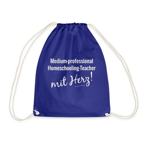 Homeschooling-Teacherweiß - Turnbeutel