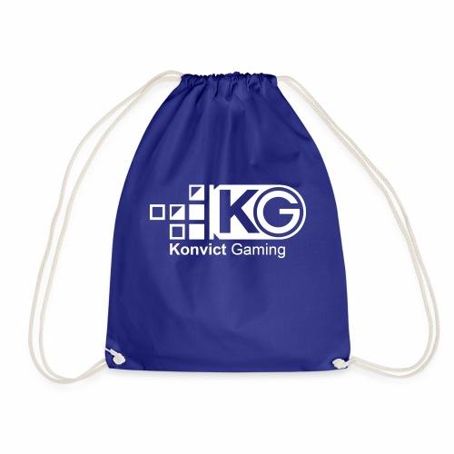 clear large - Drawstring Bag