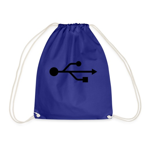 USB T-shirt - Drawstring Bag