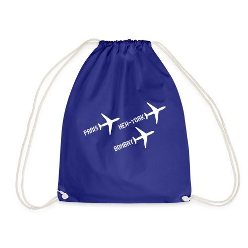 3 voyages avion white - Sac de sport léger