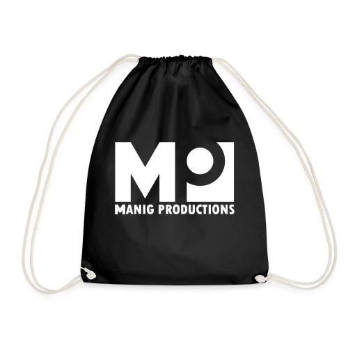 ManigProductions White Transparent png - Drawstring Bag