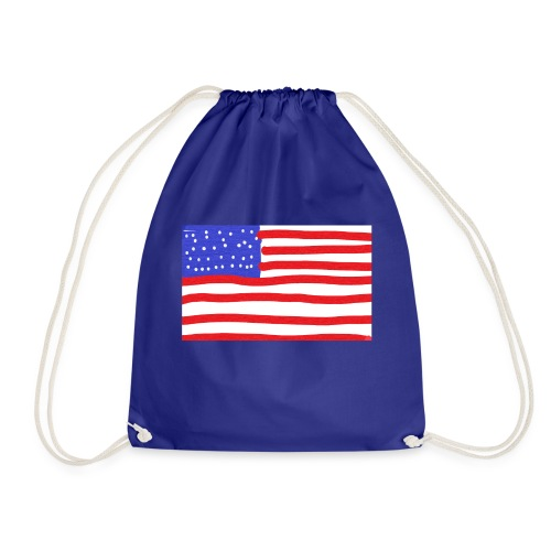Usa- Flagge - Turnbeutel