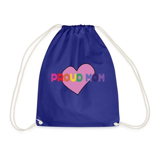 Proud mom - Drawstring Bag