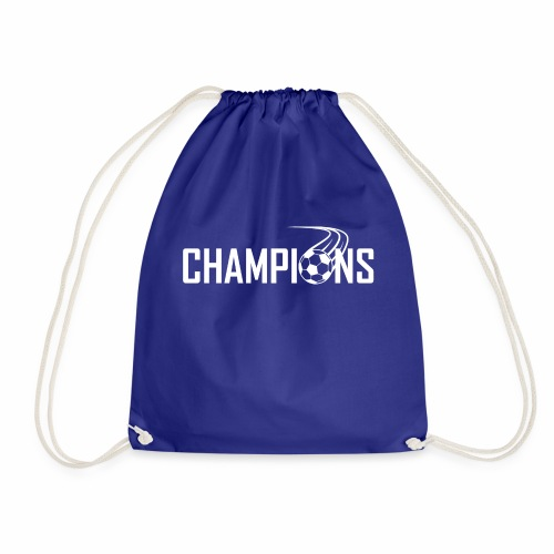 Champions Fussball Logo - Turnbeutel