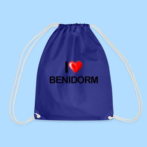 I love benidorm - Drawstring Bag