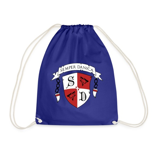 SD logo - sorte lænker - Sportstaske