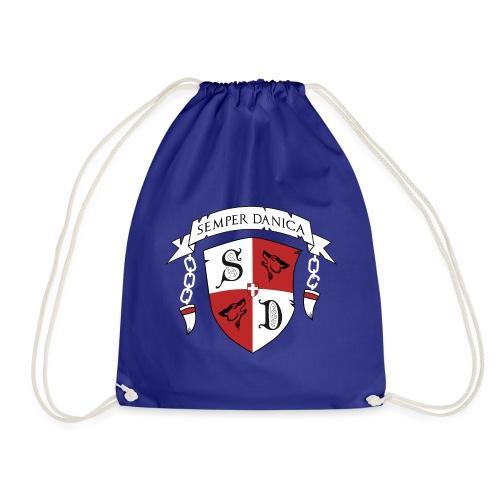 SD logo - hvide lænker - Sportstaske