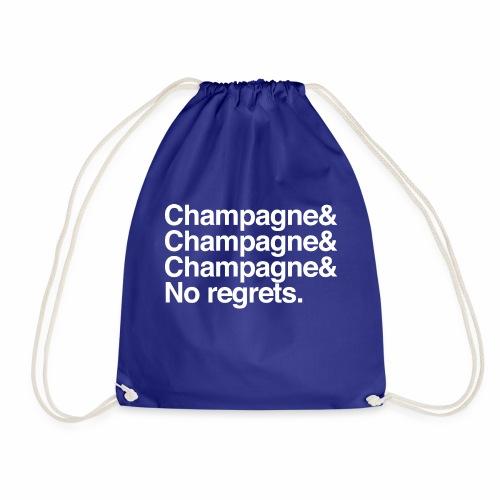 Champagne, champagne, no regrets - Sac de sport léger