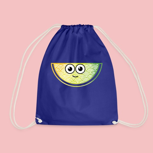 Tropical Melon - Drawstring Bag