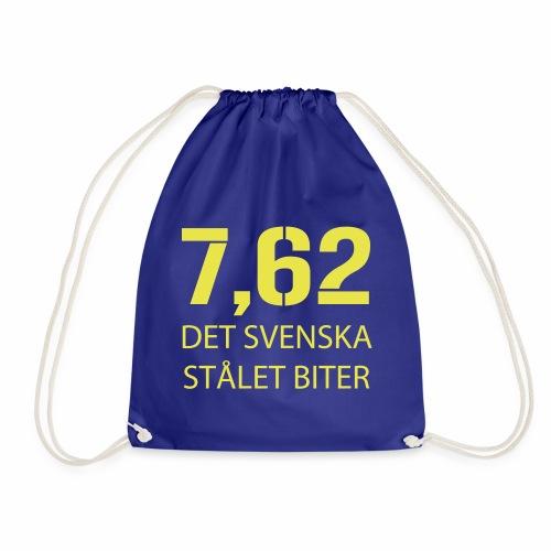 Det svenska stålet biter 7,62 - Gymnastikpåse