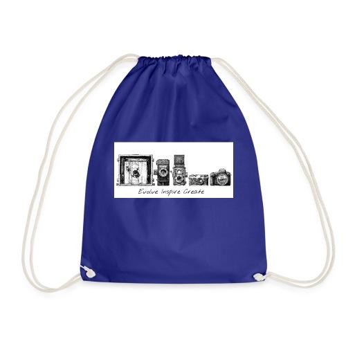 My Evolve-Inspire-Create logo - Drawstring Bag