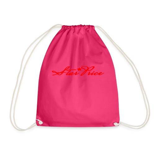 star price (red) - Drawstring Bag