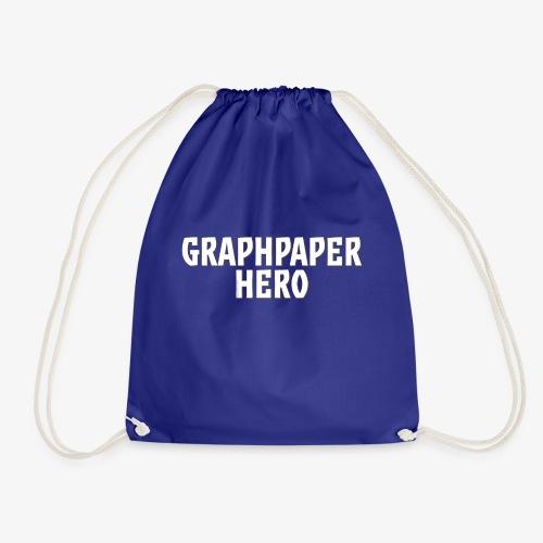 Graphpaper Hero - Drawstring Bag