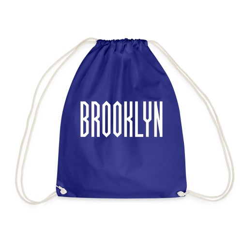 BROOKLYN Word White - Sac de sport léger