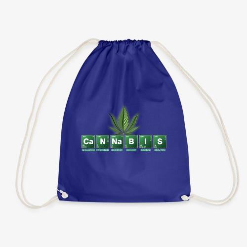 cannabis bad - Turnbeutel