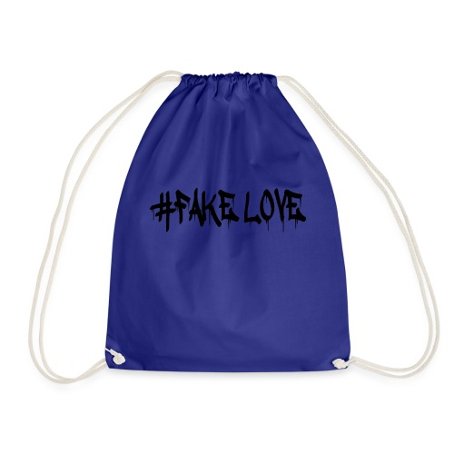 #FAKE LOVE/ BLACK - Sac de sport léger