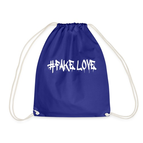 #FAKE LOVE /WHITE - Sac de sport léger