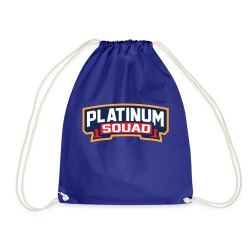 Platinum Trophies Squad Logo - Drawstring Bag