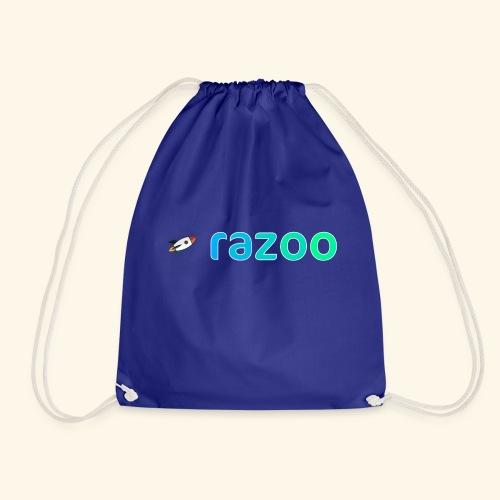 Logo razoo® con razzo - Sacca sportiva