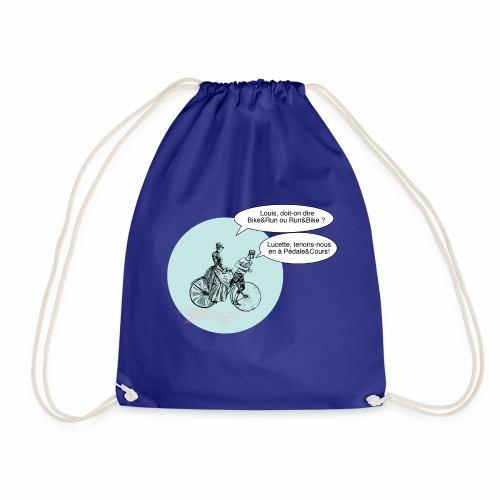 Run and Bike ou Bike and Run non Pédale et cours - Sac de sport léger