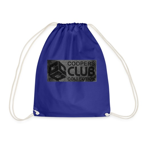 Coopers Club Collection distressed logo - Drawstring Bag