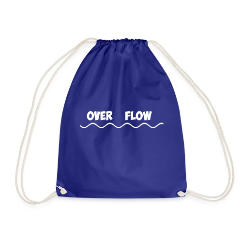 Over Flow - Drawstring Bag