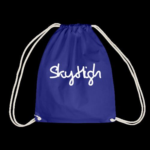SkyHigh - Snapback - (Printed) White Letters - Drawstring Bag
