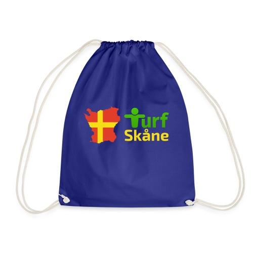 Turf Skåne Logo gul - Gymnastikpåse