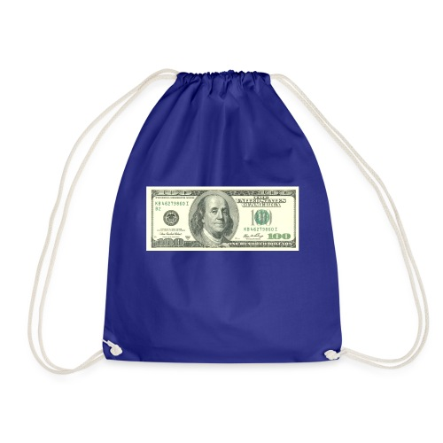 look at me money - Drawstring Bag