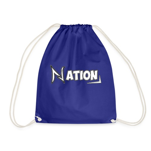 Nation Logo Design - Drawstring Bag