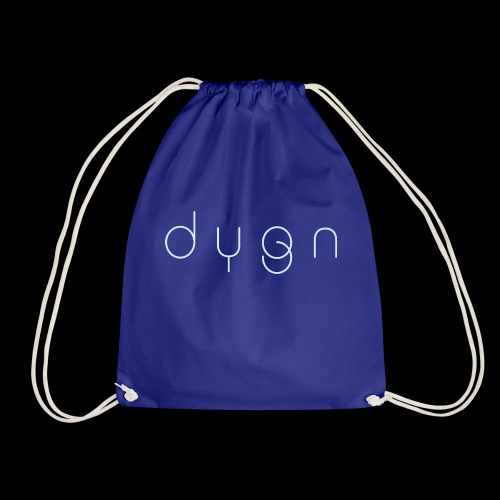 Dygn logo by Monsi Barrionuevo - Drawstring Bag