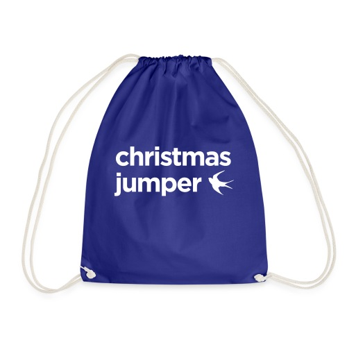 Cardiff Christmas Jumper - Drawstring Bag
