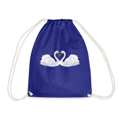 Swan hearts - Gymnastikpåse