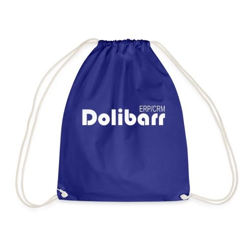 Dolibarr logo blanco - Mochila saco
