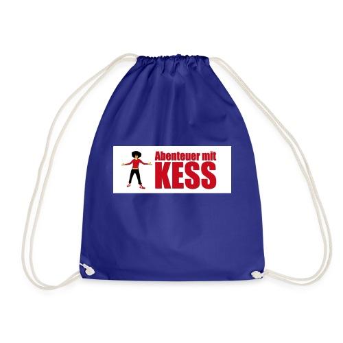 KESS-Logo weiß - Turnbeutel