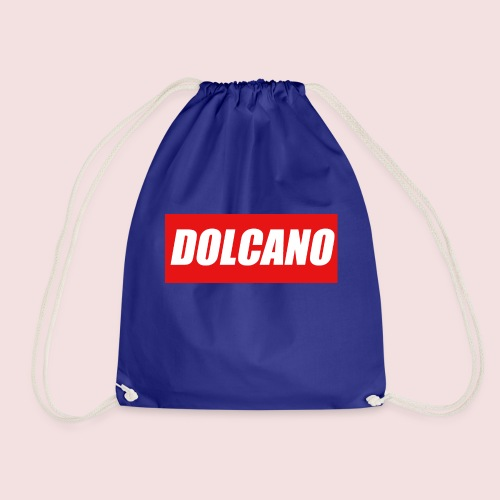 DOLCANO Box Logo Short Sleeved T-Shirt. - Drawstring Bag