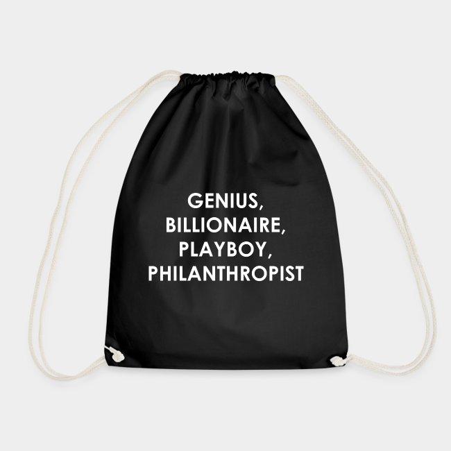 Genius Billionaire White