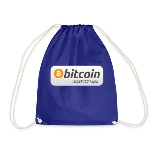 BTC Accepted Here - Turnbeutel