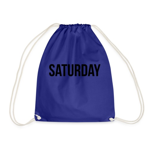 Saturday - Drawstring Bag