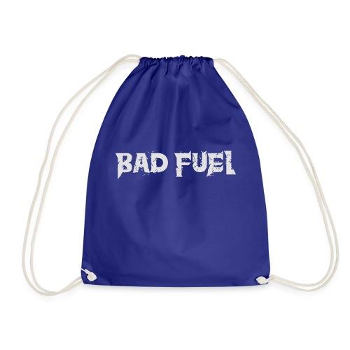 Bad Fuel logo - Drawstring Bag