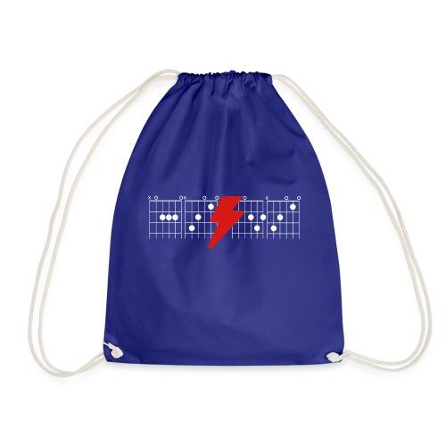 Rock Guitar Shirt - Drawstring Bag