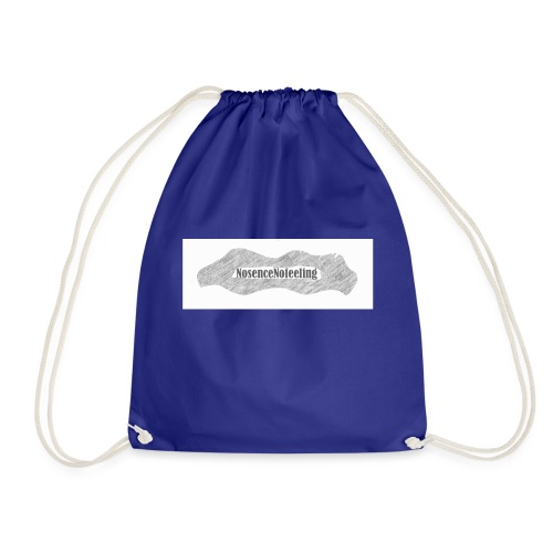 nosencenofeeling - Drawstring Bag