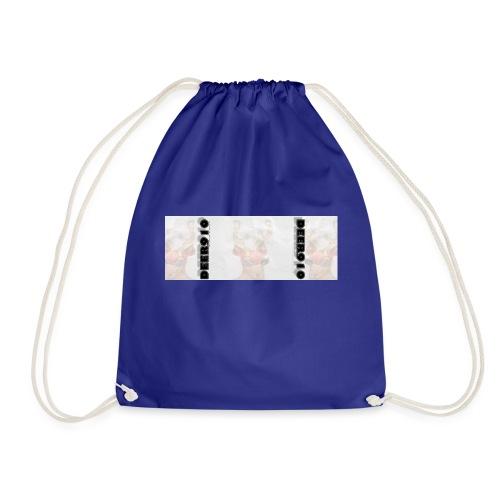 DEER910 #2 - WITH BACKGROUND - Drawstring Bag