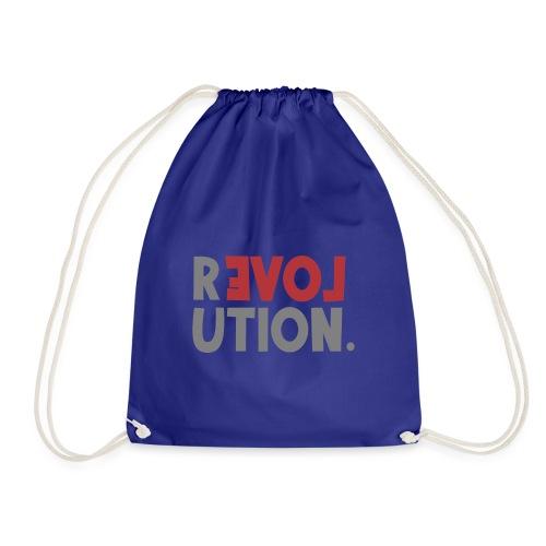 Revolution Love Sprüche Statement be different - Turnbeutel