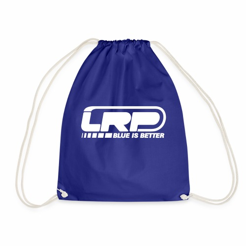 LRP Firmenlogo - Blue is better - White - Turnbeutel