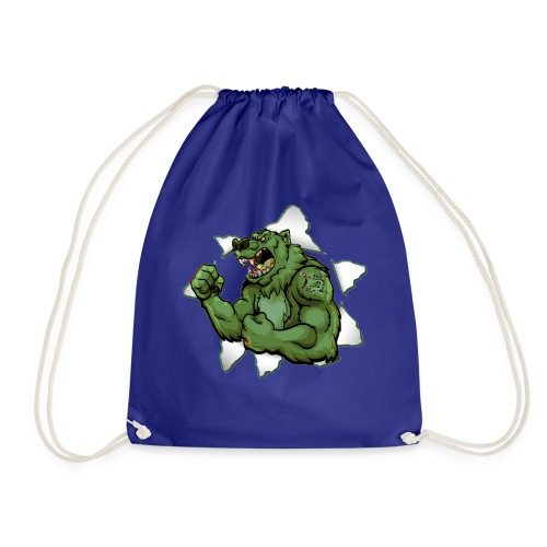 Vip3rBear Logo - Drawstring Bag