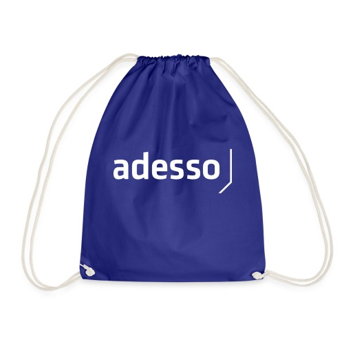 adesso basic white - Turnbeutel
